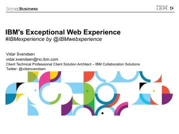 Prospecting for Web Experience Opportunities using Digital ... - LSBG