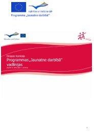 Programmas vadlīnijas (latviešu valodā) 2010. gadam - Jaunatnes ...