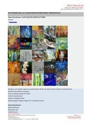 Messe 2011 - Art Savour