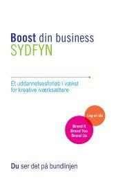 Boost Sydfyn 1.0 - Fremtidsfabrikken