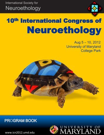 poster presentations - Tenth International Congress of Neuroethology