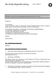 Referat fra den 22. april 2013 - Kirken i København - Københavns Stift