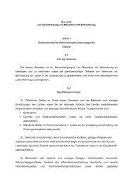 Gesetzentwurf - Behindertenbeauftragter des Landes ...