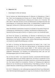 Begründung - Behindertenbeauftragter des Landes Niedersachsen ...