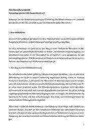 zum Redebeitrag Bernt Renzenbrink - Behindertenbeauftragter des ...