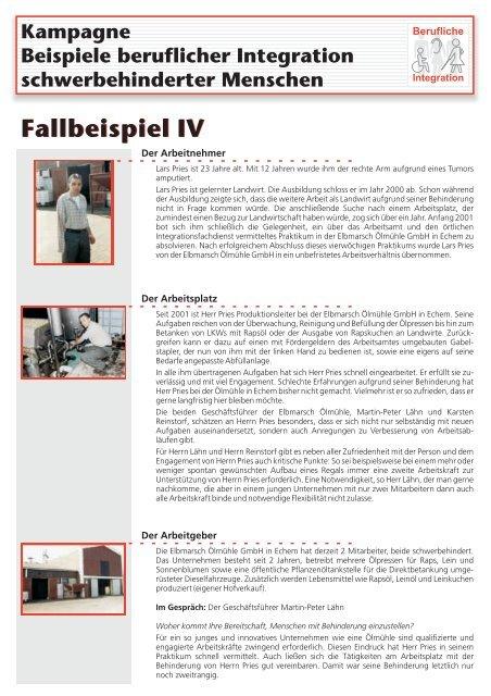 Fallbeispiel IV - Behindertenbeauftragter des Landes ...