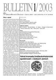 1 - Uměleckohistorická společnost v českých zemích