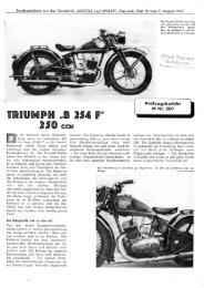 Prüfbericht Motor und Sport 1938 - TWN Zweirad IG