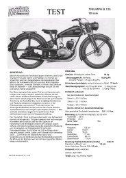 Testbericht B 125 - TWN Zweirad IG