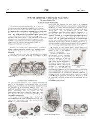 Die neuen Modelle 1926 Bericht aus der FKZ - TWN Zweirad IG