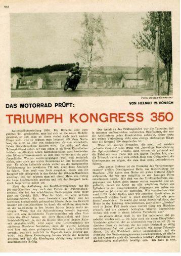 """Test aus """"Das Motorrad"""" - TWN Zweirad IG"""
