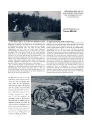 PETER PEREGRIN prüft BDG 250 1949 - TWN Zweirad IG