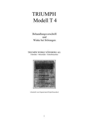 Handbuch - TWN Zweirad IG