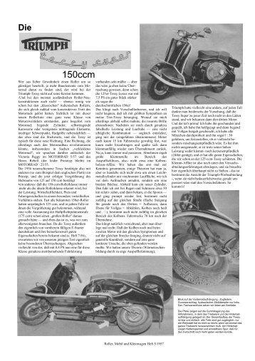 Test Tessy Super 150 - TWN Zweirad IG