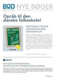 NYE BØGER - BoD