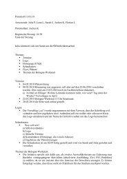 Sitzung Nr. VIII vom 11.03.2010 - Fachschaft 04