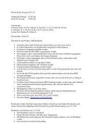 Sitzung Nr. III vom 21.01.2010 - Fachschaft 04