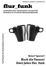 Ausgabe 01: Dezember 2010 - Fachschaft 04