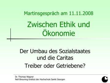 Präsentation von Dr. Thomas Wagner