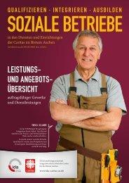 Soziale Betriebe - Sozialwerk Aachener Christen eV