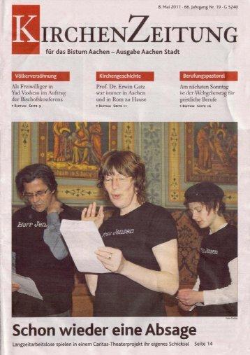 Kirchenzeitung für das Bistum Aachen 08.05.2011
