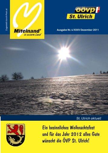 3,34 MB - Gemeinde St. Ulrich im Mühlkreis