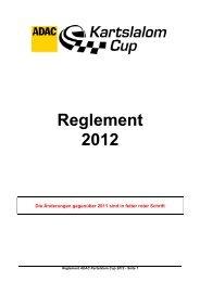 Reglement 2012 - MTSWenzel