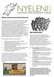 Kommunikation Motivation Nyeleni Forum 2011 Deutsch