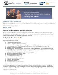 Newsletter Vol 4 Spotlight: BusinessNow! - Softengine Inc.