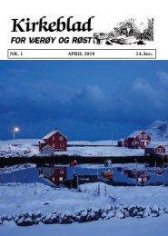 NR. 1 APRIL 2010 54.ÅRg. - værøya.no