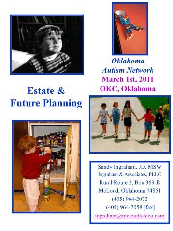 Print the PowerPoint - Oklahoma Autism Network