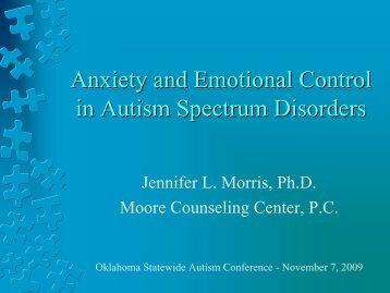 MorrisPowerpoint - Oklahoma Autism Network