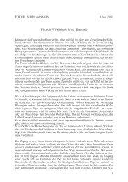 Über die Wirklichkeit in der Phantasie - Hansjörg Wagner