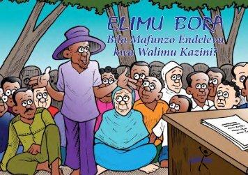 Elimu bora bila mafunzo endelevu kwa walimu.pdf - HakiElimu