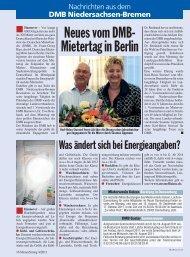 DMB Niedersachsen-Bremen - Deutscher Mieterbund