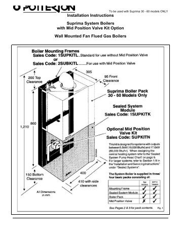 Potterton suprima systempdf free boiler manuals potterton suprima systempdf a c wilgar cheapraybanclubmaster Choice Image