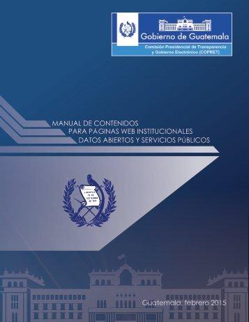 Manual De Portales Institucionales