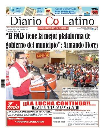 Edición 19 de Febrero de 2015