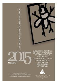 XIV DICTAMEN 2015 ENERO EVOLUCIONINTERANUAL COMUNIDADES AUTNOMAS