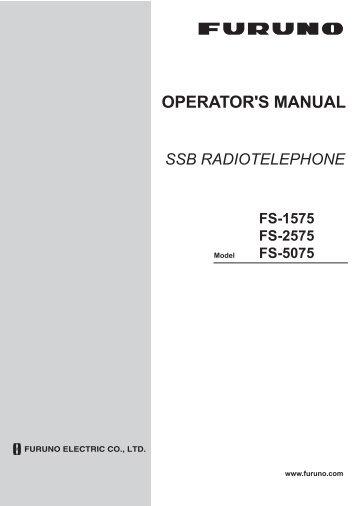 FS1575_2575_5075 Operator's Manual C 9-27-2012 - Furuno USA