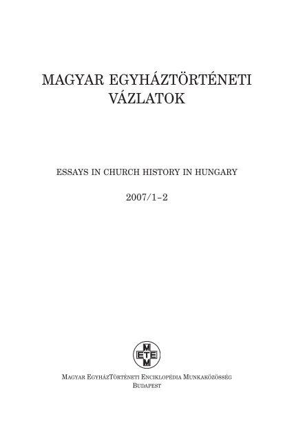 Célkeresztben A 'Szekus' És 'Szektás' Lelkészek   PDF