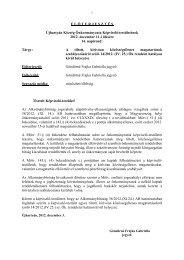 14.A tiltott, kirívóan közösségellenes magatartásról szóló ... - Újhartyán