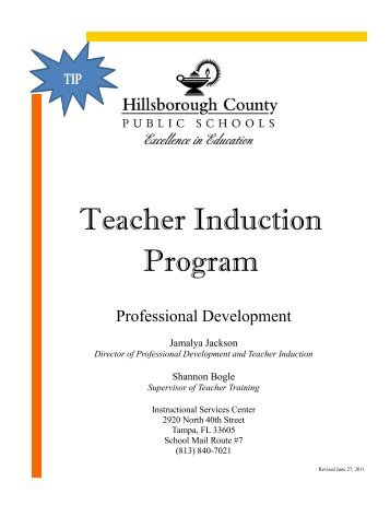 Teacher Induction Program - TNTP