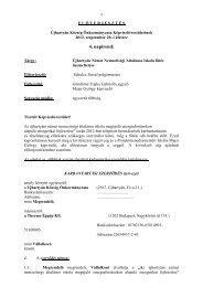 4.)Újhartyán Német Nemzetiségi Általános Iskola fűtés üzemeltetése