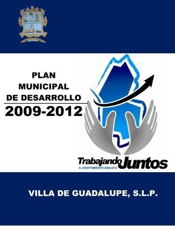 VILLA DE GUADALUPE, S.L.P. PLAN MUNICIPAL DE ... - Cefim