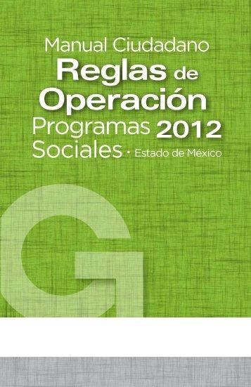 Manual Ciudadano 2012.pdf - Gobierno del Estado de México