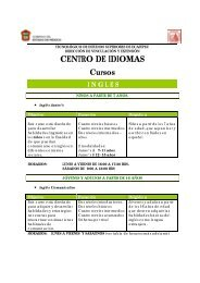 CENTRO DE IDIOMAS