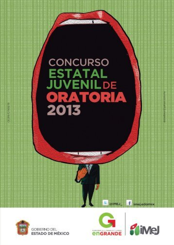 Convocatoria del Concurso Estatal Juvenil de Oratoria 2013