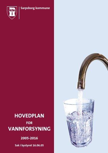 Hovedplan vannforsyning - Sarpsborg kommune