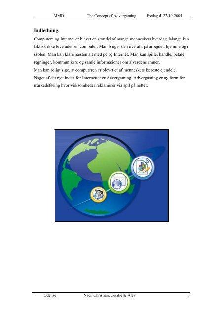 Advergaming Rapport (.pdf)
